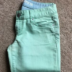 Light Green Jeans